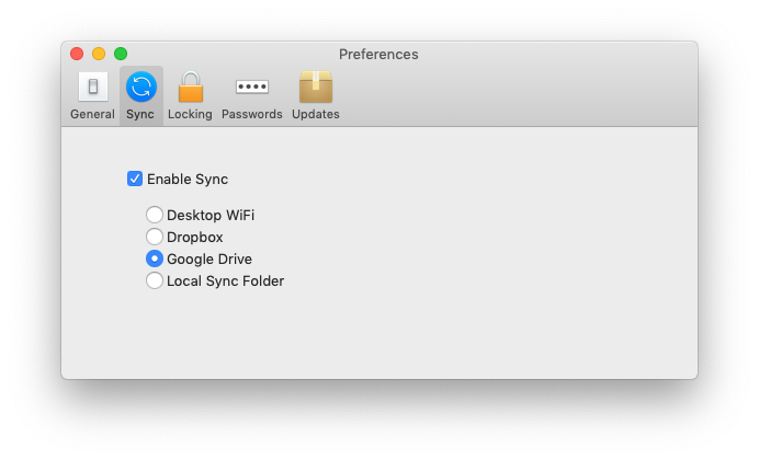 mac preferences screen