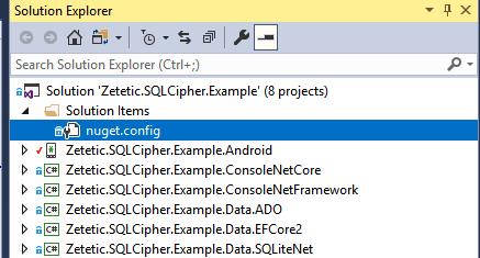 SQLCipher for  NET - Full Database Encryption for Windows, Windows